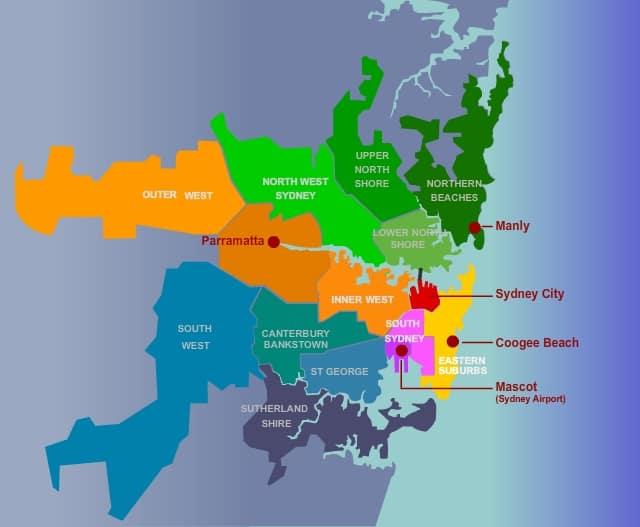 Sydney_Regions