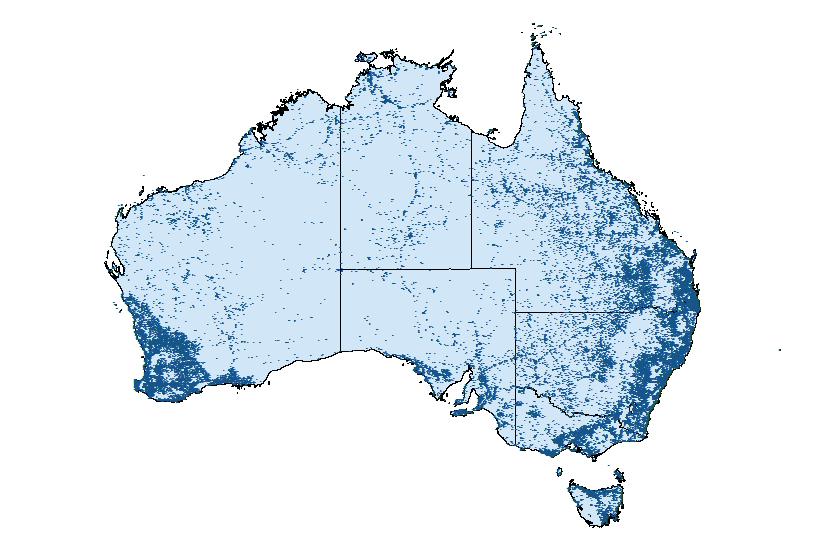 VAST Locations In Australia
