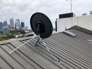 Dish and Mount