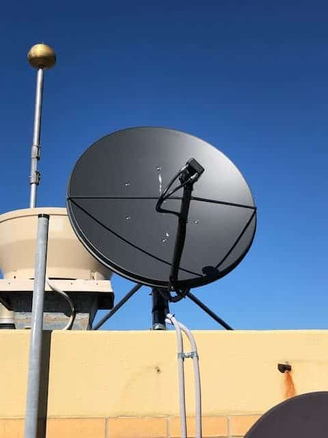 Satellite Dish Front